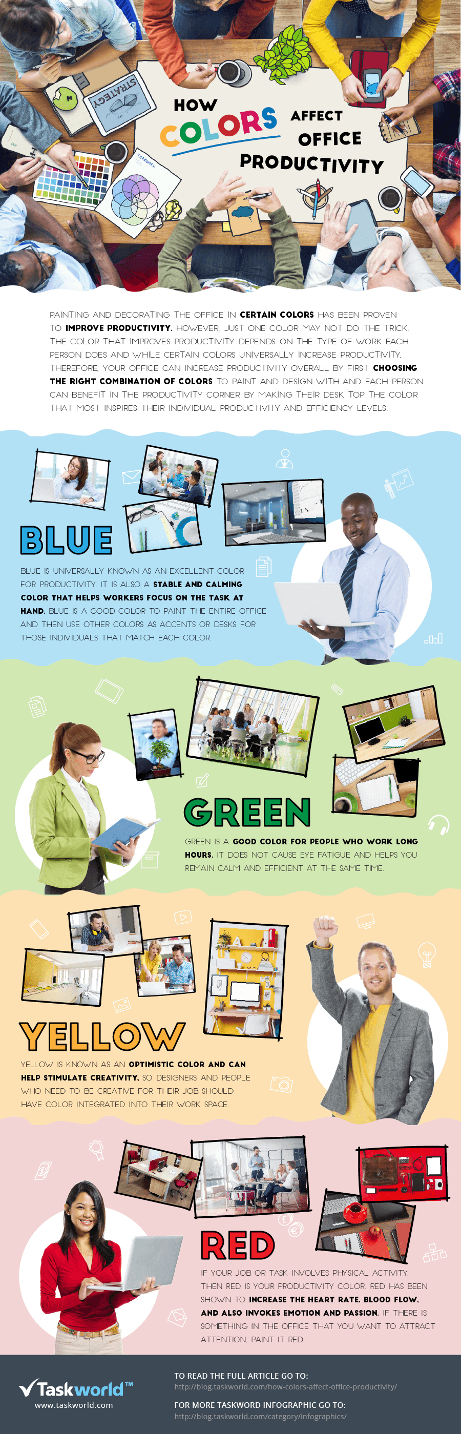 coloring the workplace infographic