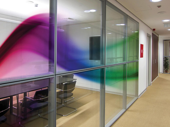 custom printed glass designs for your office
