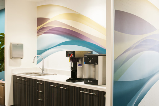 hdwall canteen wall wrap