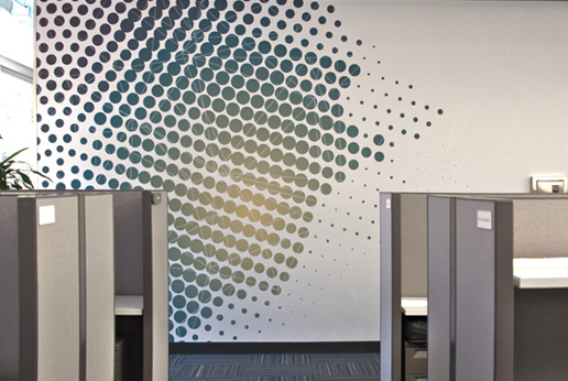 hdwall to transform office interior wall spaces