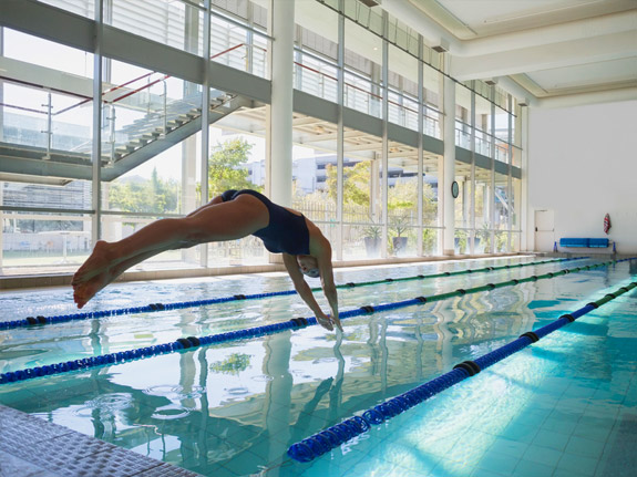 Glass safety film improving swimming pools hdclear - Can pregnant women swim in public pools ...