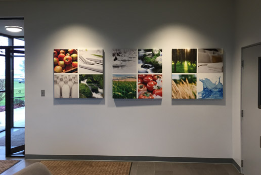 HDClear canvas wall art for offices