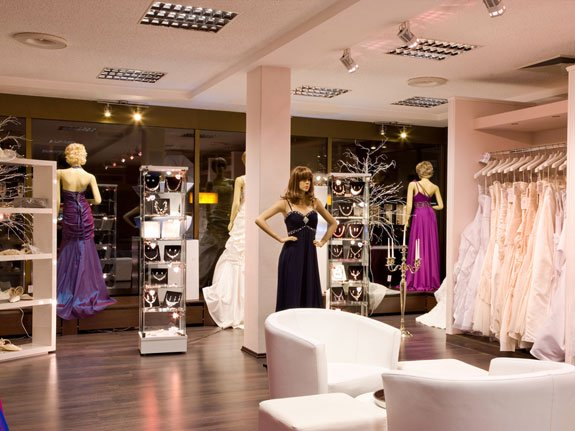 Window Solutions for Bridal Wear Stores